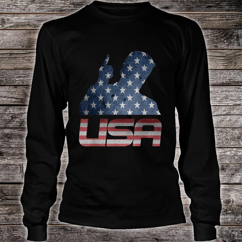 USA Independence Day 4th of July Shirt long sleeved